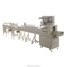 Automatic horizontal pillow packing machine /flow wrapper for food
