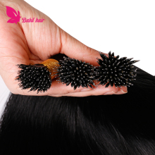 European silky straight natural hair extensions nano ring private label hair extensions