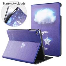flip cover folio case color printing stand pu leather case for ipad 2-3-4 with custom design