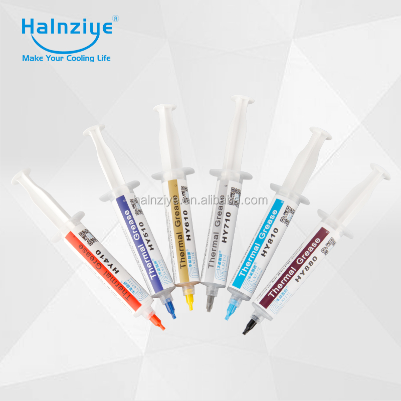 Halnziye Thermal grease thermal compound thermal paste For CPU GPU Heatsink LED light