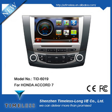 2 DIN Auto car radio for honda ac-cord (single & dual zone air condition Optional)