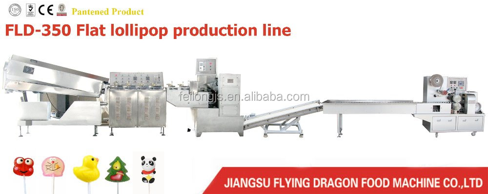 Automatic cartoon lollipop candy making machine price