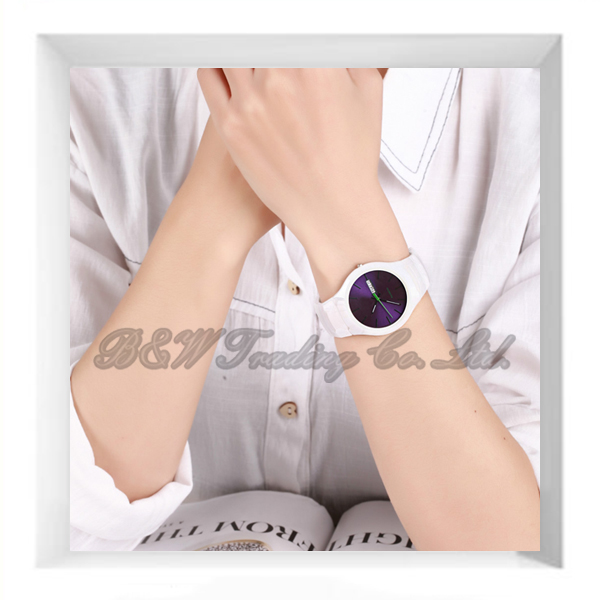 Calendar Purple Dial Online Ceramic Watches Shop
