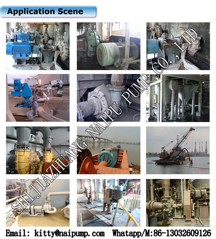 China Small Centrifugal Slurry Pump Price List