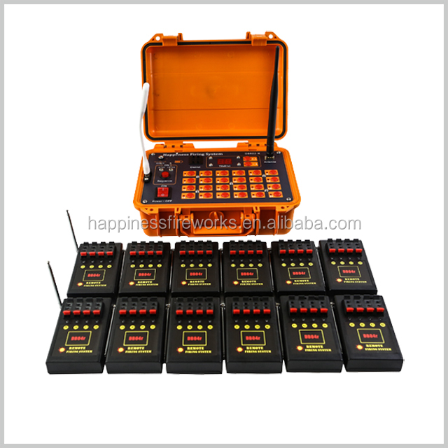 Factory price 48 cues 500M remote control happiness fireworks firing system