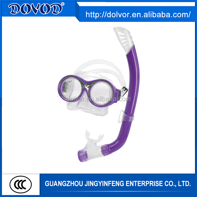 Silicone and PVC material available diving equipment scuba diving mask for snorkeling