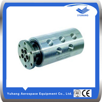 rotary joint for water & compressed air & hydraulic oil