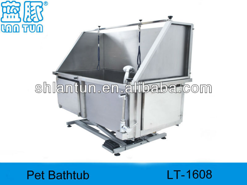 LT-1608 Electric lifting,dog bath,pet grooming tub