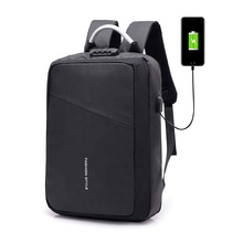 2019 Custom wholesale back pack Waterproof Anti-theft USB Charging Laptop <strong>Backpack</strong> Anti theft Business Laptop Bags