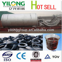 Non-pollution and energy saving recycling old tires to oil machine with CE ISO