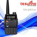 TESUNHO TH-UVF10 handsfree new powerful handheld best selling portable mini commercial dual band vhf uhf interphone