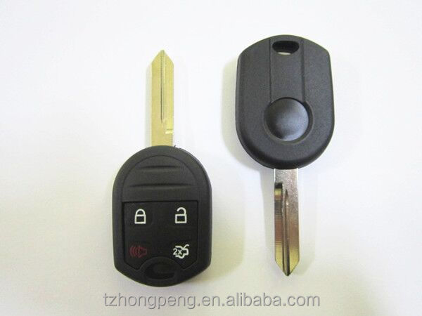 factory direct new 3+1 button car <strong>key</strong> for Ford Edge remote <strong>key</strong> shell