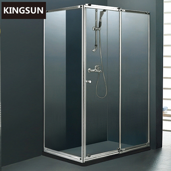 Stainless Steel Frame 6MM Tempered Glass Complete Bath Shower Room K-7204