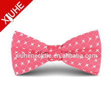 Mens eco-friendly decorative ribbon bow tie