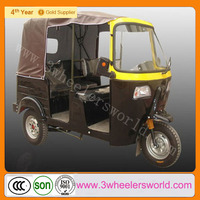 Alibaba Website China Newest Design 200cc Motorised Passenger Tricycle with Cabin on Sale