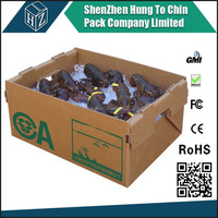 used in the seafood, agriculture, and nursery industries Waxed corrugated cartons
