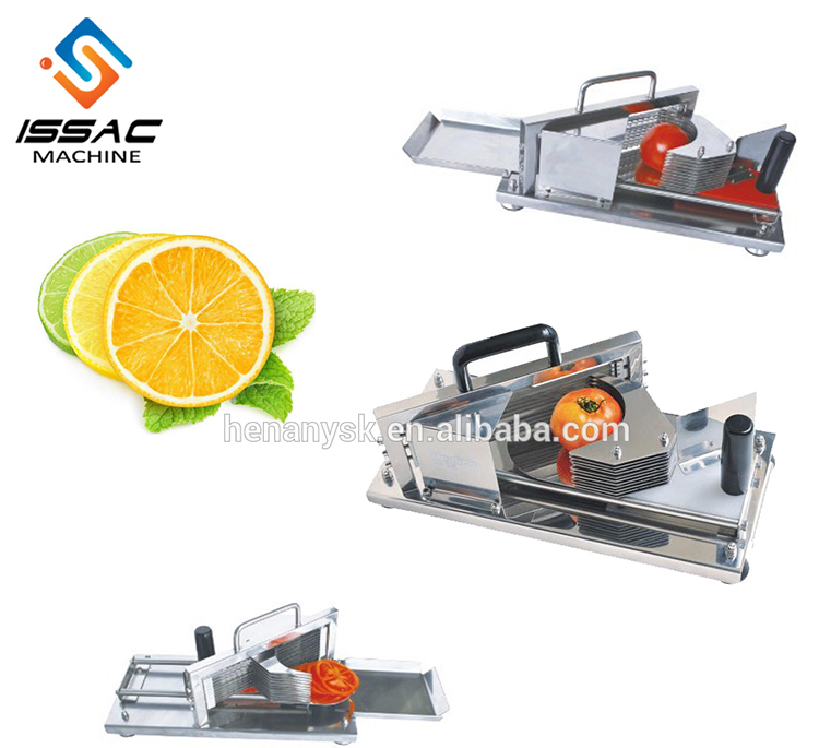 Commercial Stainless steel slim manual fruit slicer Lemon/ tomato/onion slicer fruit cutter slicing tools