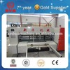 4 color flexo printing slotting machine/corrugated board printing slotting die cutting equipment