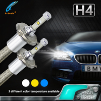 Philip Chip high power auto led lighting h1 h4 h7 led headlights universal for all cars