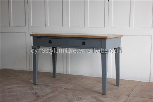 En bois antique salon meubles designs bleu peint couleur bureau