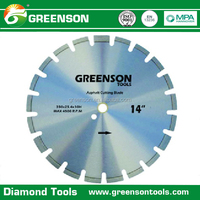 factory price green concrete cutting blade diamond asphalt cutter saw