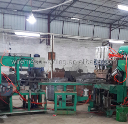 automatic spiral wire winding machine for Industrial Spiral Fan Guard