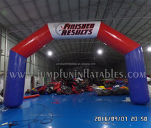 FINISH line PVC inflatable air arch customized,LOGO print Inflatable Start Line inflate arches