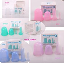 OEM available Chinese Silicone Cupping Set