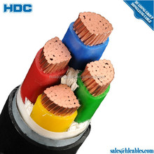 1000V copper conductor PVC/PVC jacket 4x35mm2 nyy kabel