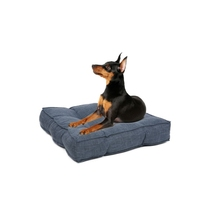 Polyester comfortable wholesale rectangle dog cushion