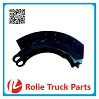 65428 Trailor Heavy duty lorry oem 1649000 truck spare parts Unlined 3600a brake drum and brake shoe