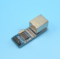 Mini ENC28J60 Ethernet LAN / Network Module For 51 AVR STM32 LPC
