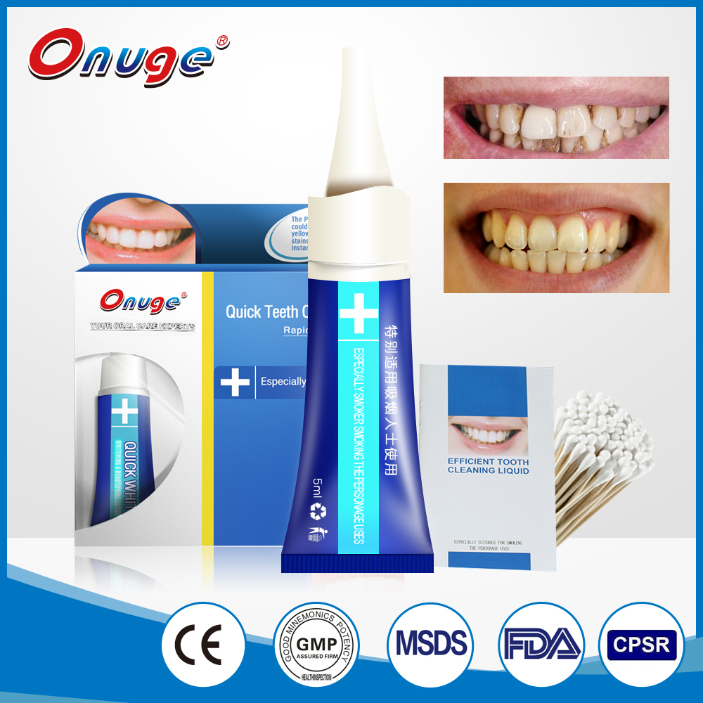 Hot Sale Instant Whitening System -Teeth Whitening Liquid for Smokers