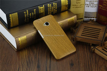New retro wood style wooden bamboo mobile phone hard case cover for HTC One M7