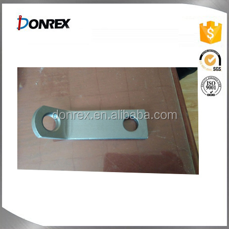 Steel metal Toyota fitting hardware with sand plating