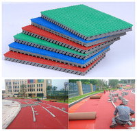 High Quality Anti-Slip Synthetic Rubber Rolls For 400 Meter Standard Running Sports Track Material