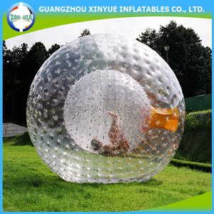 Cheap inflatable hydro zorb ball