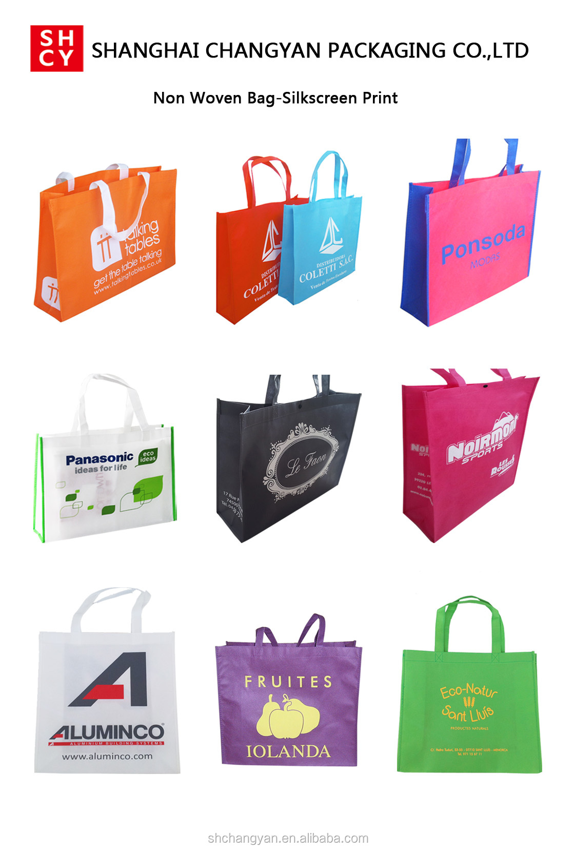 new style round bag non woven zipper bag