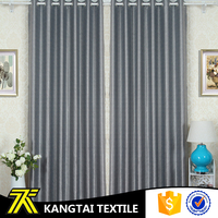 Suzhou home textile factory 100% polyester cationic dyed twill window cloth fabric for curtain