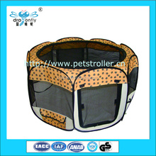 Classical Portable Folding Waterproof Fabric Pet Playpen carrier hosue