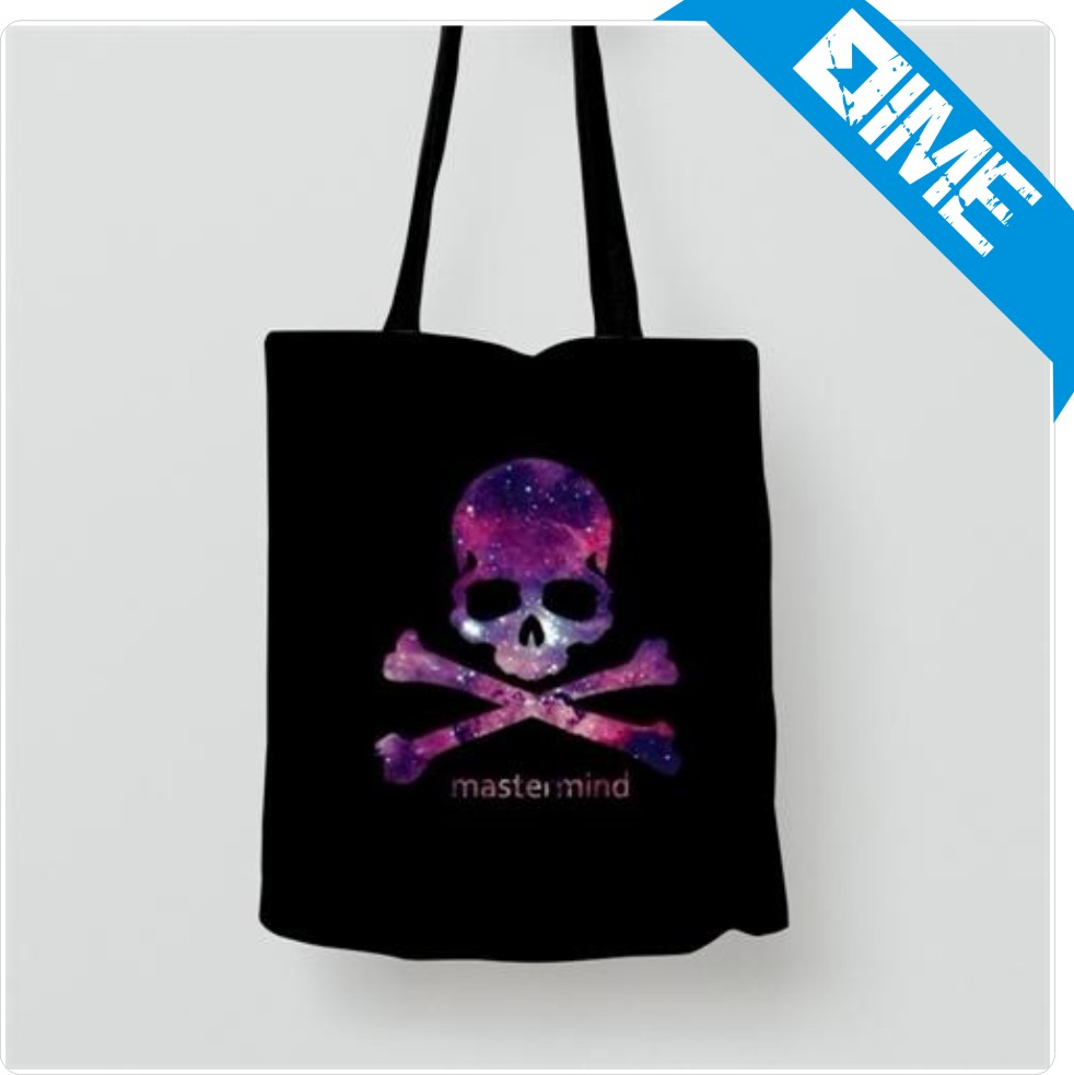 OEM Production Handle Standard Size Black Cotton Tote Bag For Shopping