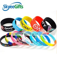 2016 Good sale awareness wristbands Wonderful arm silicone bands