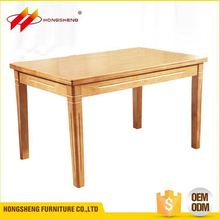 china price solid wooden table outdoor wood furniture