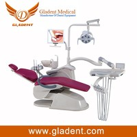 Foshan Gladent Hot Selling CE approved dental chair unit