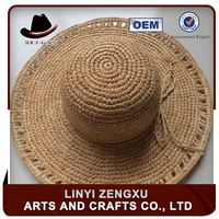 ladies many colors wide brim beach hats to decorate