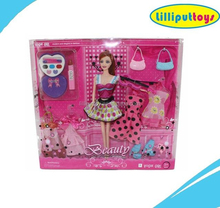 11.5 inch Toy Beauty Doll Set for Girls