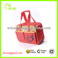 Foldable travel Aviation shoulder handle bag pet bag carrier