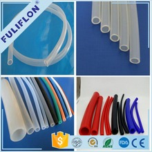 High quality colorful customized size silicon rubber tubing