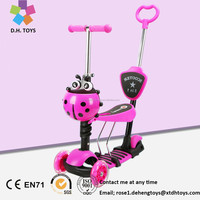 New Model Three Wheels Kick Kids Scooter/3 in1 5 in 1 Child Scooter Toys for Child/Kids Scooter with Optional Color