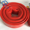China manufacturer PVC plastic irrigation Layflat hose pipe for water discharge